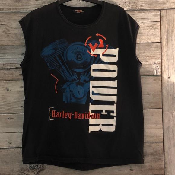 Harley-Davidson Other - Harley-Davidson Men's Vintage T-Shirt Size Medium